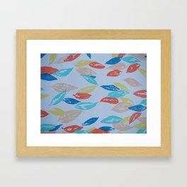 Summer Leaves Framed Art Print