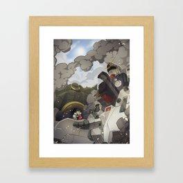 08th ms team: secret love of two enemies Framed Art Print