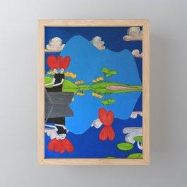 Dead Girls Rowing on Loch Fionn (3) Framed Mini Art Print