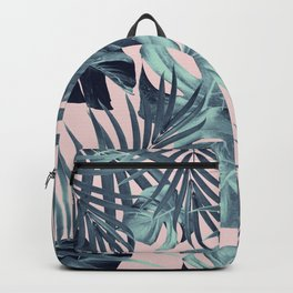Tropical Jungle Leaves Pattern #8 #tropical #decor #art #society6 Backpack