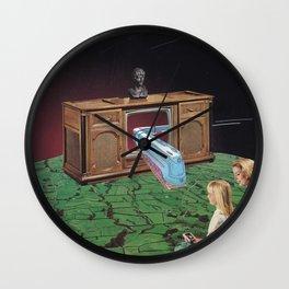 Warp drive Wall Clock