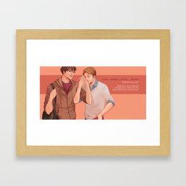 your demon lover, brady (supernatural) Framed Art Print