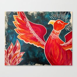 May the Phoenix Rise Canvas Print