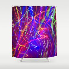 Electric Love Shower Curtain