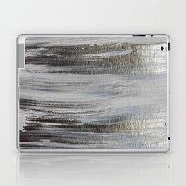 Metallic Abstract Painting 5 #texture #minimalism Laptop & iPad Skin