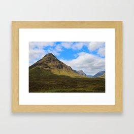 Highland Green Framed Art Print