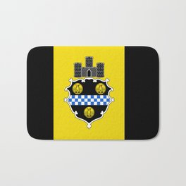 flag of pittsburg Bath Mat