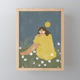 Sun don't shine Framed Mini Art Print