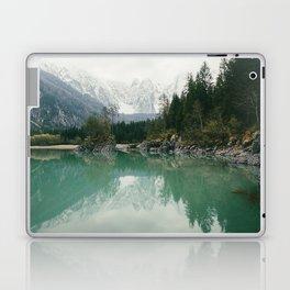 Turquoise lake - Landscape and Nature Photography Laptop & iPad Skin
