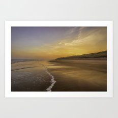 Seaside colours Art Print