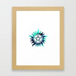 Anti Possession Framed Art Print