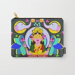 Goddess Lakshmi from India Carry-All Pouch