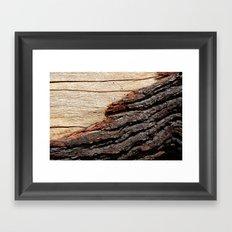 Wood Duo Framed Art Print