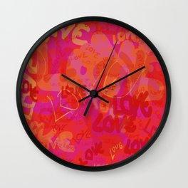redlove Wall Clock