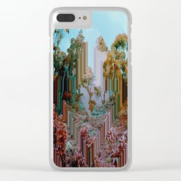 the crystal forest Clear iPhone Case