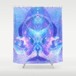 Arcturian Integration Shower Curtain