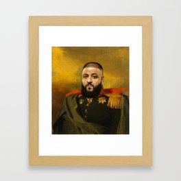 DJ Khaled Classical Painting Framed Art Print