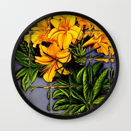 Window on Nature Wall Clock