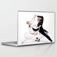 dancing Laptop & iPad Skins featuring dancing by arnedayan