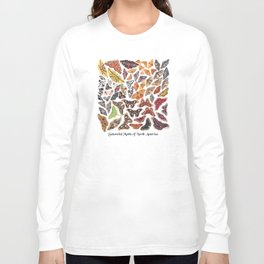 Saturniid Moths of North America Long Sleeve T-shirt