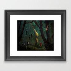 The Gift Framed Art Print