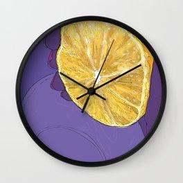 #inktober2016:squeeze Wall Clock