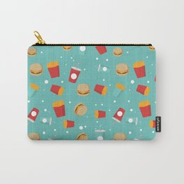 Burgers pattern Carry-All Pouch