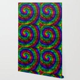 Rainbow Crackle Wallpaper