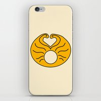 hedwig iPhone & iPod Skins featuring Hedwig Wig! by byebyesally