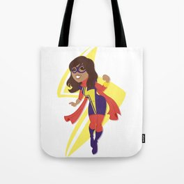Taking up the Mantle Tote Bag