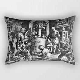 Alchemical Laboratory Rectangular Pillow