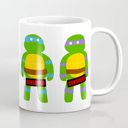 Naughty Ninja Turtles Coffee Mug