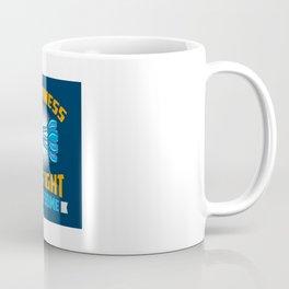Happiness Is A Tight Threesome Dart Fun - Funny Dart Player Pun Gift Coffee Mug