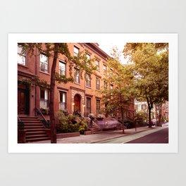 Brooklyn Heights at dusk Art Print