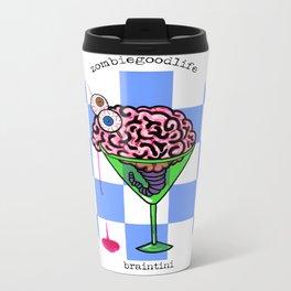 Brain-tini Metal Travel Mug