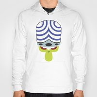 jojo Hoodies featuring The Powerpuff Girls - Mojo Jojo by transitoryspace