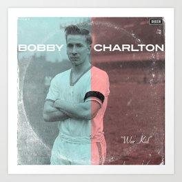 LPFC: Bobby Charlton Art Print