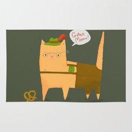 Oktoberfest Kitty Rug