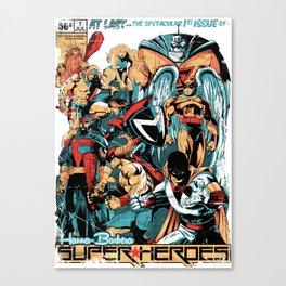 HANNA-BARBERA SUPER HEROES Canvas Print