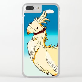 Chocobo Clear iPhone Case