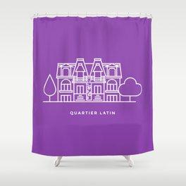 Quartier Latin, Montréal. (Qc) Shower Curtain