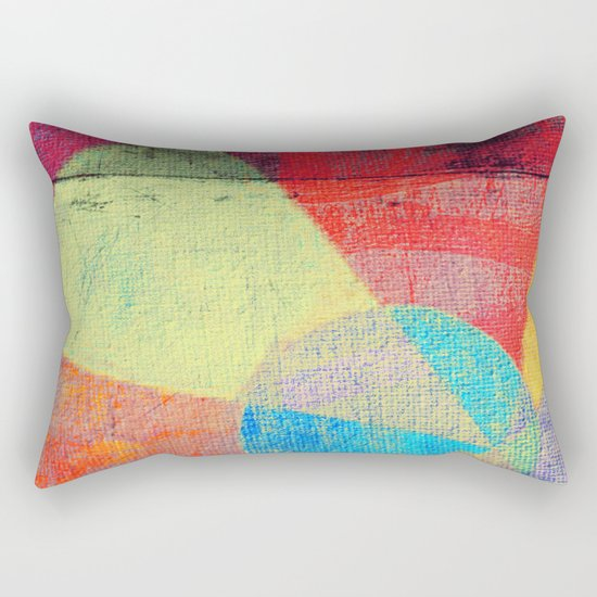 Beach Volleyball Rectangular Pillow