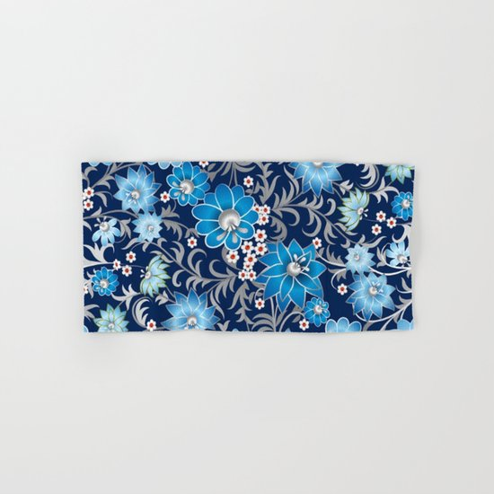 Shabby flowers #25 Hand & Bath Towel