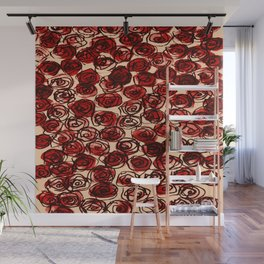 Watered Flora  Wall Mural