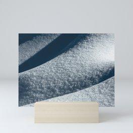 Abstract Snow Drift III - 101/365 Nature Photography Mini Art Print