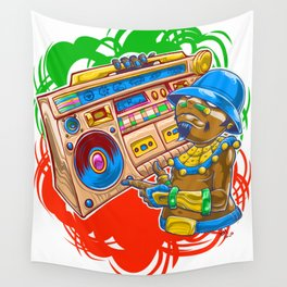 AM Radio Wall Tapestry