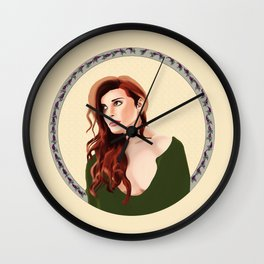 The Wolf's Bane Wall Clock