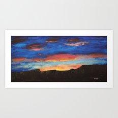 Grand Sunrise Art Print