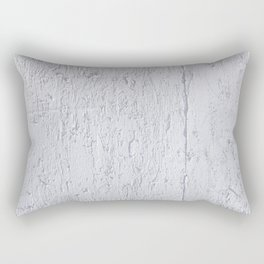 The White Painted Plywood Rectangular Pillow