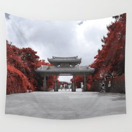 Shuri Gate Wall Tapestry